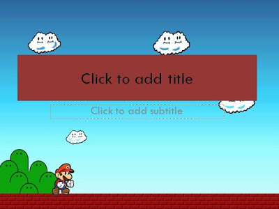 Mario bros template powerpoint templates 4 presentation description mario bros has been re released many times by itself and as a sub game in other games here we make it in powerpoint template toneelgroepblik Image collections