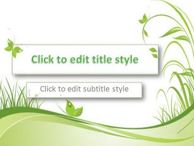 Greenery Powerpoint Templates 4 Presentation