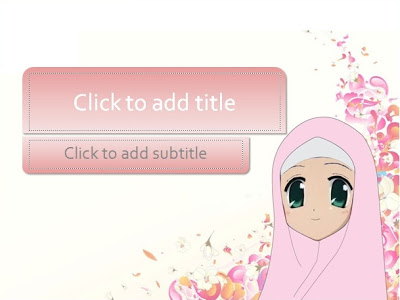 Description This Is A Special Template For You Muslim Female These Templates Are Very Suitable Variety Of PowerPoint Presentations
