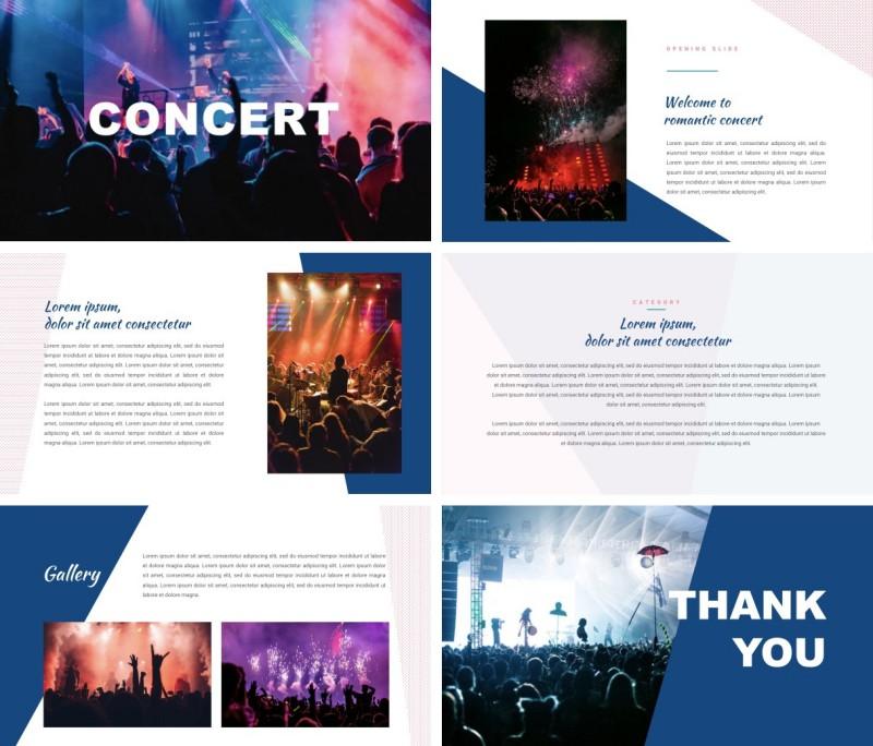 Concert PPT Template