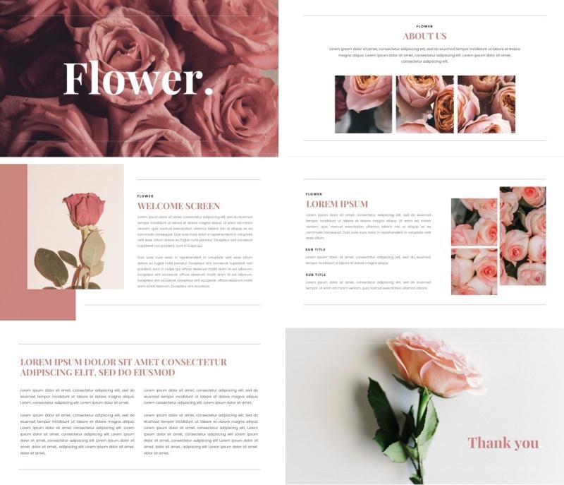 Flower PPT Template