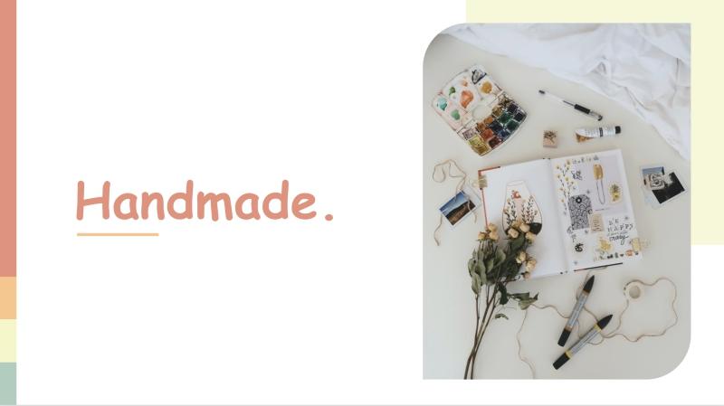 Handmade Powerpoint Template