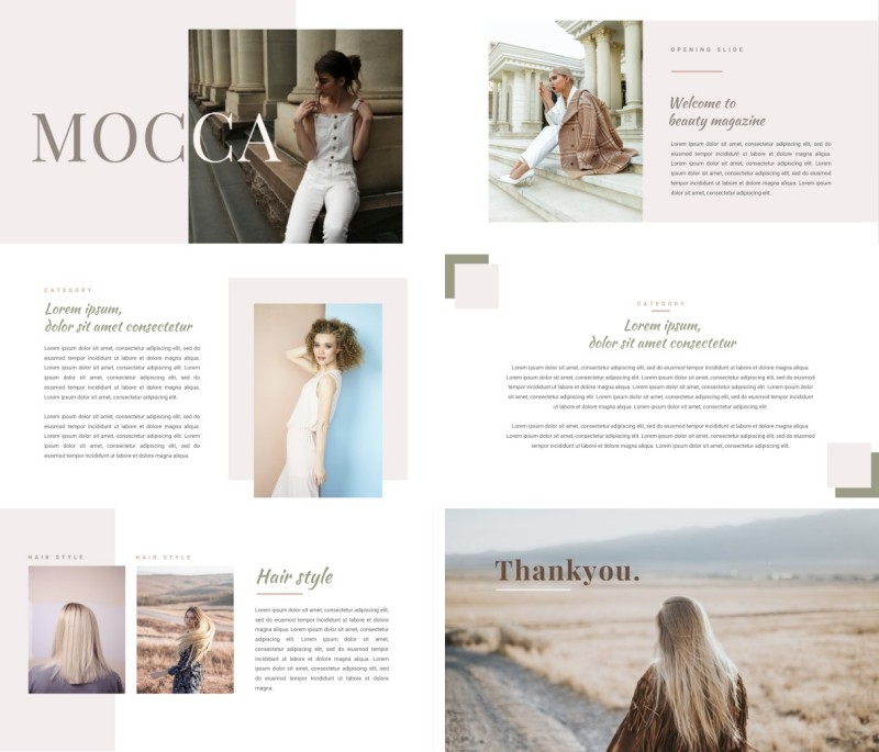 Mocca PPT Template