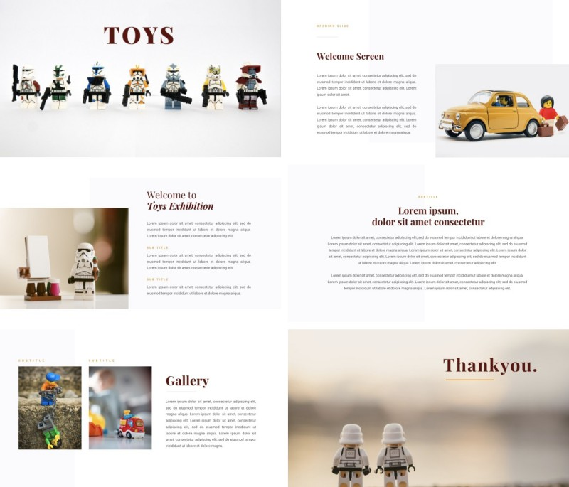 Toys PPT Template