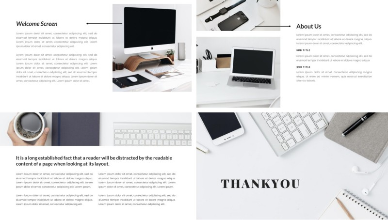 Workspace PPT Template