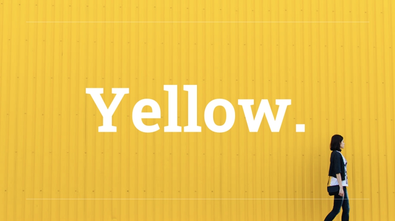 Yellow Powerpoint Template